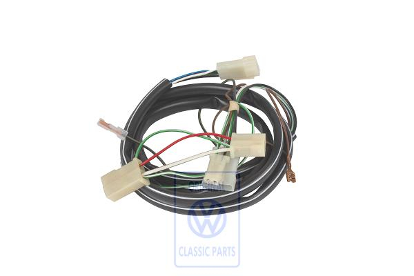 spare parts for t3 | electric system | wiring sets  volkswagen classic parts